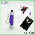 Cheap customized 3 LED Keychain Light, LED Flashlight,LED Key Chain Light