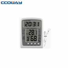 High precision hygrometer clock outdoor indoor thermometer