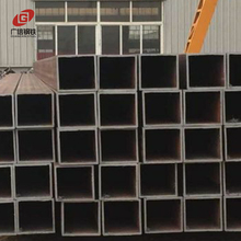 Seamless square welded europe carbon steel ms hollow section pipes black