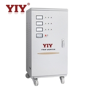 TNS 6 kva voltage stabilizer 3 phase automatic voltage regulator servo controlled voltage stabilizer circuit