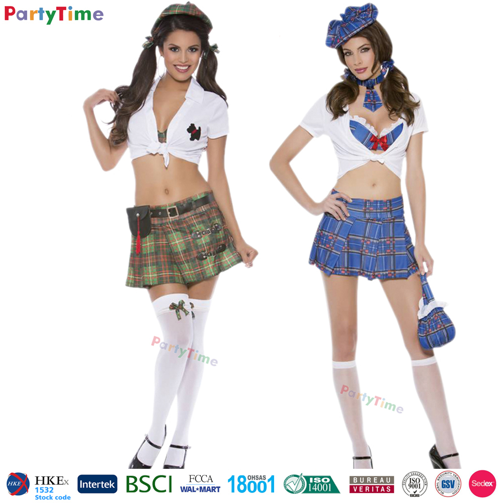 SK11 national exchange student naughty school uniform school girl sex costume