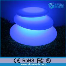 wireless RGB color cordless decorative night light,christmas floor/table led party lamp