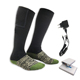 Battery electric operated heated sock for ski boots