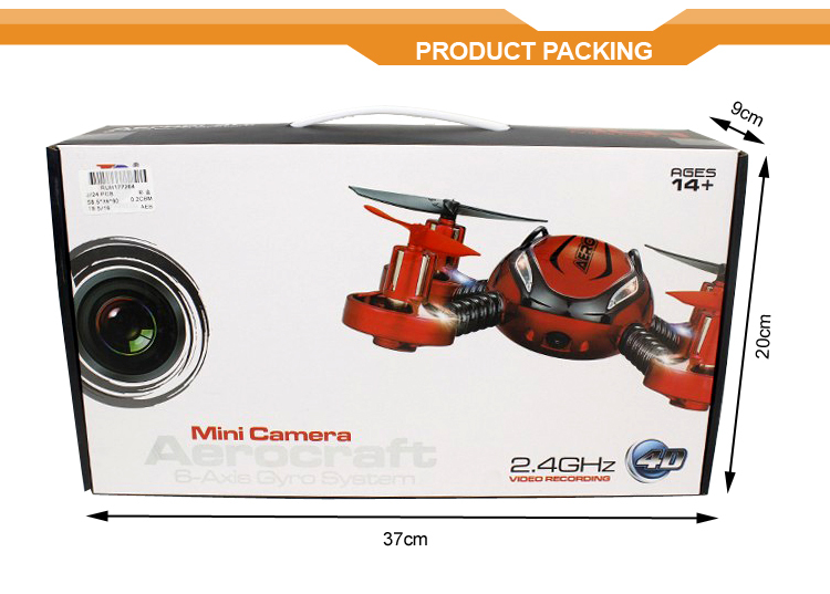 Octocopter 2.4G Throw out Flying RC Mini Drone with Camera,Cheerson Wltoys Syma JXD UdiRC JJRC WL toys Alibaba Express