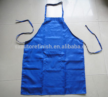 waterproof anti-static blue apron Cutomized cleaning work apron