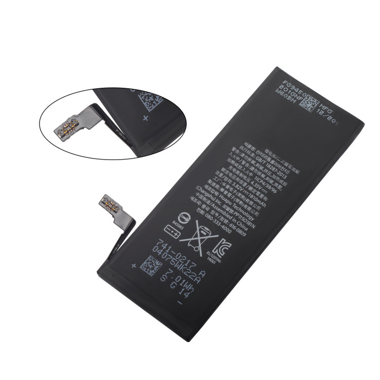 2018 New Replacement AAA Grade PSE 3.82V 1810mAh best cell phone battery for iphone 6