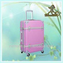 fashion hot sale aluminum trolley abs luggage
