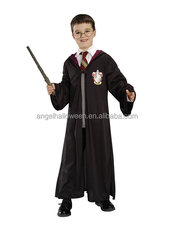 Wholesale china manufactuers harry potter robe fancy dress costumes for kids FC2248