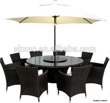 easily assemble 3pcs german dining sala sets furniture