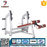 heavy duty decline bench press body relaxing equipment/body fit equipment