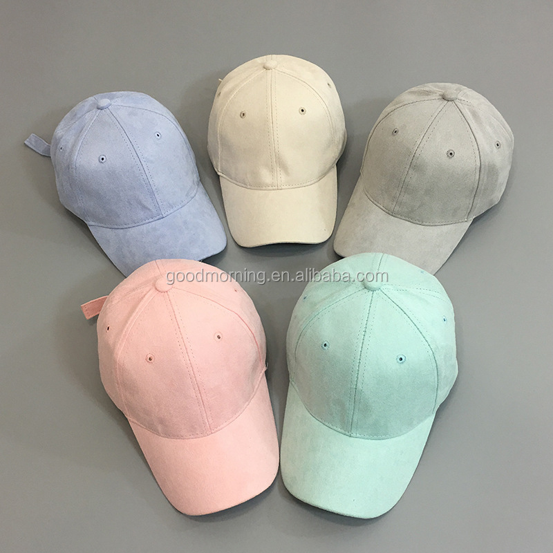 Promotional more colors soft textile baseball cap and hat