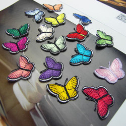 Embroidery Butterfly Applique Patches For Women's Dress