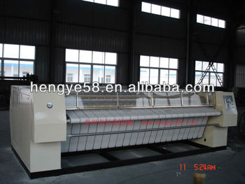 Commercial Laundry automatic ironing machine for variety of textile