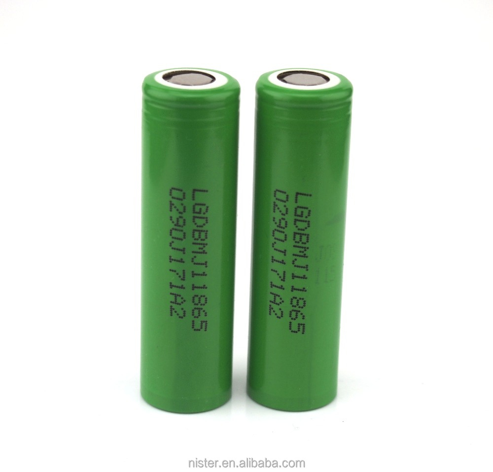 Best-Selling Original LG 18650 High Drain Li-ion Battery 3500mAh lg 18650mj1 3500mah MJ1 10A Max
