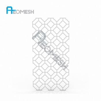 de in Guangzhou Professional Factory Plum-shaped perforated plate Decorative Metal Perforated Mesh
