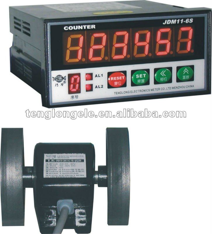 JDM11-6S + LK-80-4 wire length counter/ cable length measurement measure in millimetre (0.001-0.001m)