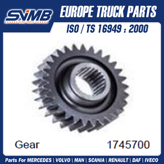 High Quality Gear 1745700 For Scania 4 Series / P/G/R/T Series