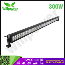 "See Farther, Go Faster 300w 52""inch OFF ROAD LED LIGHT Bar 24 volt led light bar combo beam king light bar for jeep"