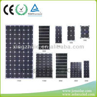 certificated chinese solar panels for sale 130W, 3W to 310w, customized