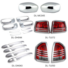 Car parts wholesale chrome ABS plastic decoration door auto car exterior accessories Chrysler 300 300C dodge charger