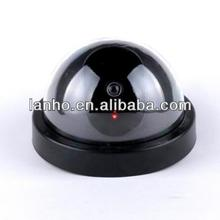 Wireless Fake Dome Camera Flashing LED Home Dummy Security CCTV Surveillance