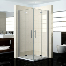 Modern Sliding 10mm Glass Shower Enclosure Cubicle Door + Side Panel