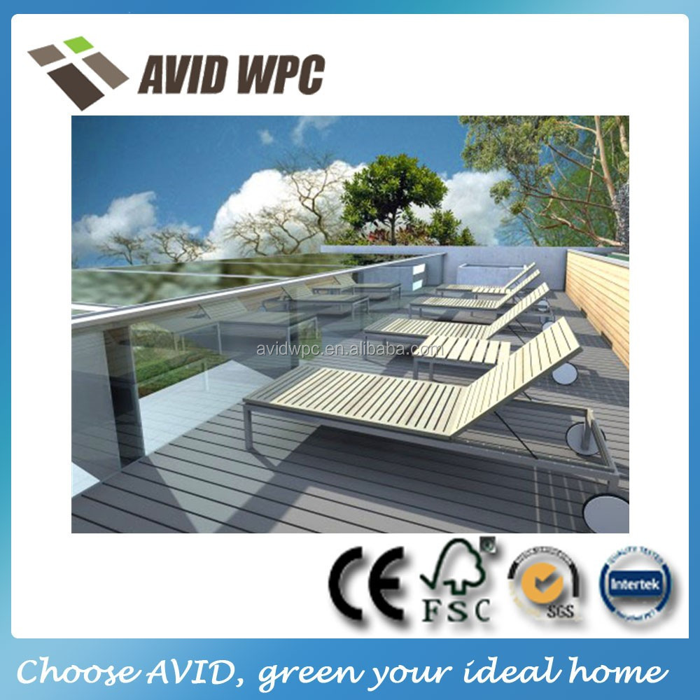 water proof wood plastic composite WPC crack-resistant outdoor decking flooring for sale with CE, SGS certificate