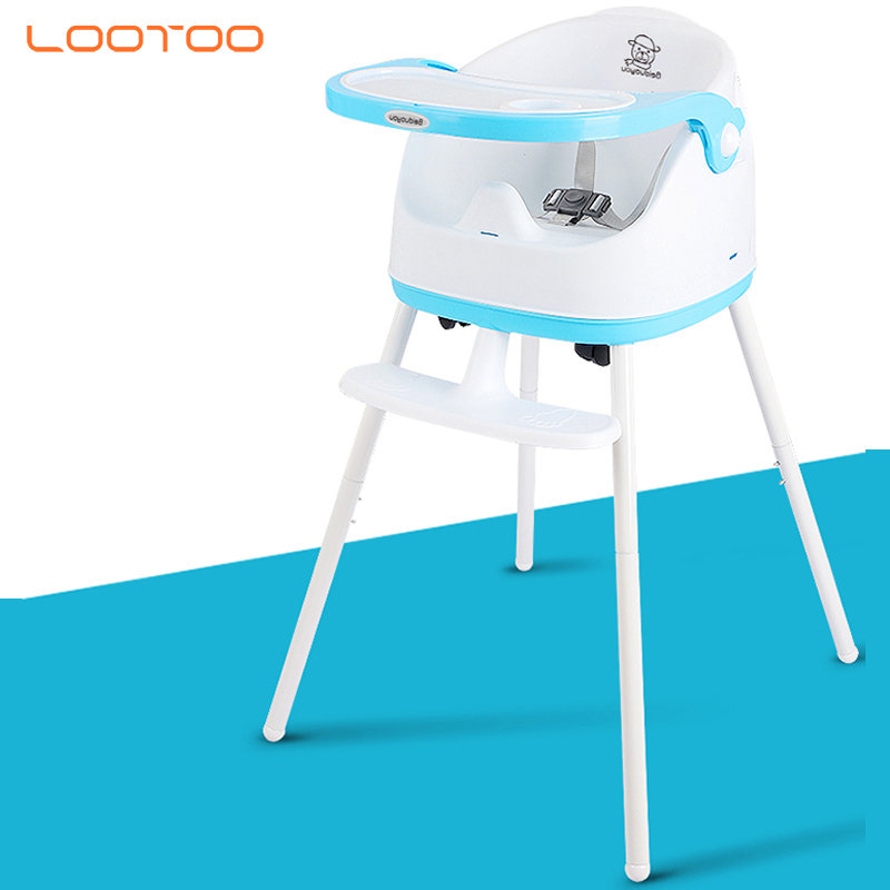 Good quality european 2in1 multi-function portable baby eating high chair for feeding children kids