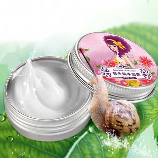 Cosmetics Snail Facial Cream for Glowing Skin Anti Aging Collagen Face Cream for oily skin
