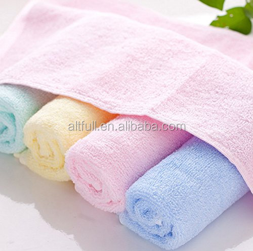 China supplier 100% organic Bamboo towel softextile baby face towel/baby wash cloth