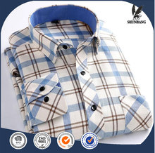 Wholesale mens shirts OEM western plaid shirts for men high quality