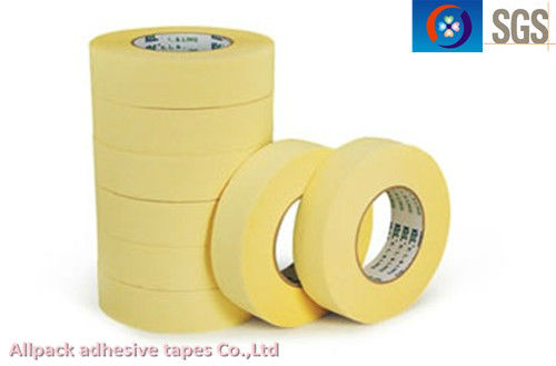 High Temperature Heat-resistance Feature Covering Use Auto Paiting Crepe Paper Masking tape