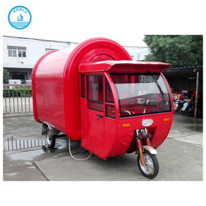 Factory supply food truck /mobile taco cart/food tricycle cart for sale