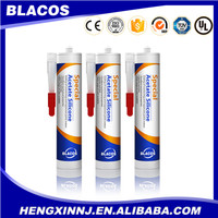 acetic special non-toxic silicone sealant for glass