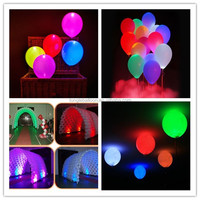 EN71 LED promotional rubber round balloons from China