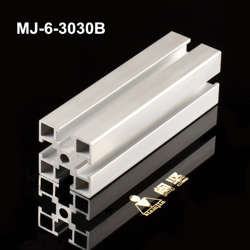 Clear Anodizing Aluminum Extrusion Industry Profile Aluminum Sheet 6063 Custom Aluminum Frame