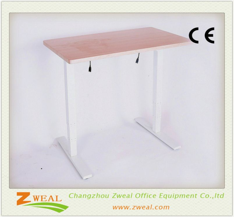 stainless steel office desk baby table and chairs electric height adjustable tall computer
