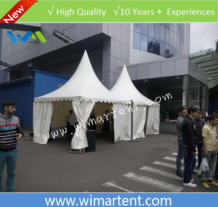 non flat top 4x4m party gazebo canopy for sale