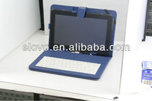 hot sale 10.1 inch tablet pc leather keyboard case