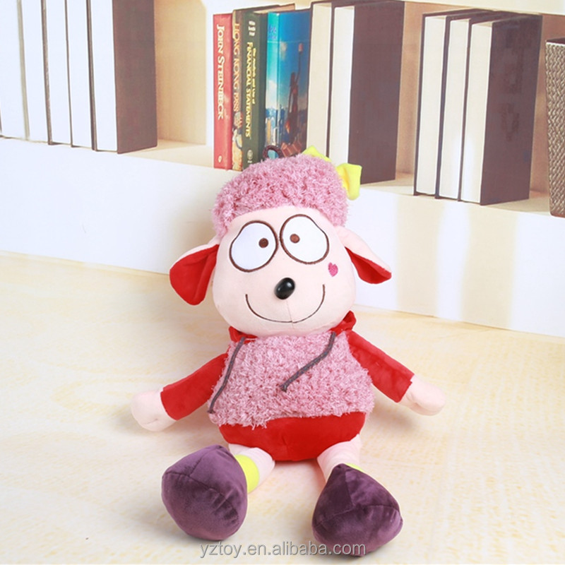 Lovely princess wool plush toys, children children's day birthday gift doll