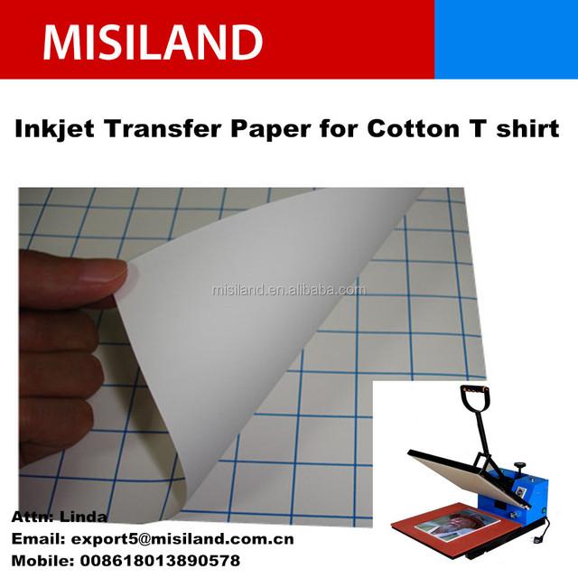 170gsm dark color blue back line inkjet DIY t shirt transfer print paper , dye ink and pigment ink