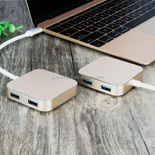 10Gbps usb 3.1 type-c hub for macbook charging