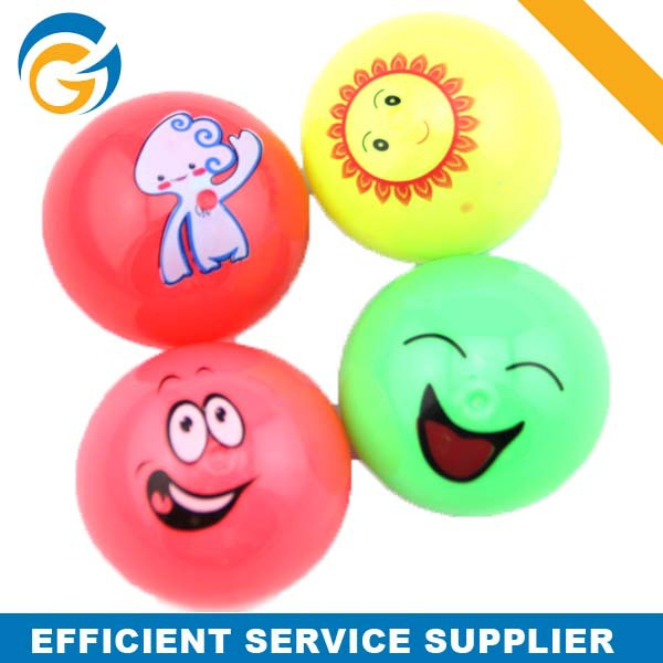 Funny Smiling Face Bouncing Ball Vending Machine Bouncy Ball