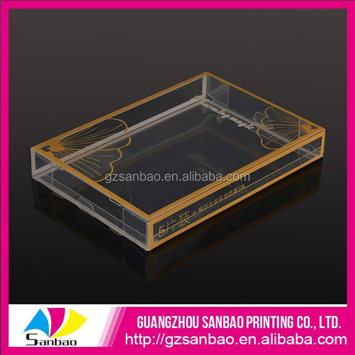 Custom Plastic PVC PET PP Design Printing Clothing Packaging, Cute Baby Clothes Packaging Box