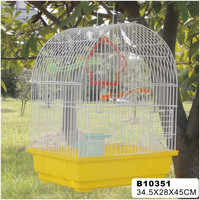 2014 New design wrought iron bird cages