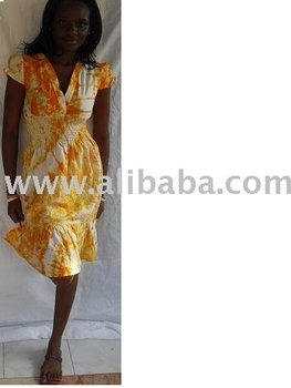ladies tie&dye/batik dresses
