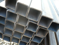 Cold drawn rectangular seamless steel tube ASTM A36 rectangular steel tube size for structure from China supplier hollow section