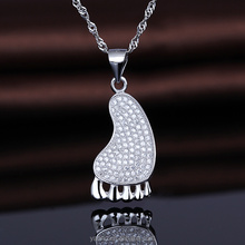 Factory Direct Wholesale Jewelry 925 Sterling Silver Sole Pendant
