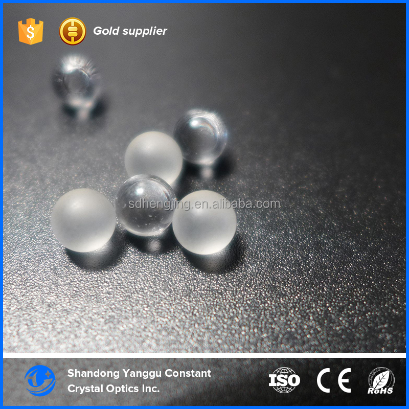 Polished sapphire glass ball lenses