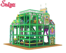 New Fun Land design theme children indoor play park playground